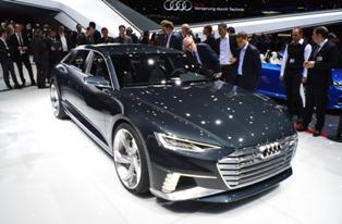 Audi презентовала в Шанхае прототип кроссовера Prologue Allroad