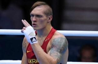 Надежда украинского бокса Александр Усик в апреле сразится с россиянином Ан ...