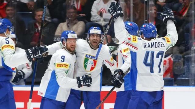 ЧМ по хоккею: Италия и Великобритания остаются в высшем дивизионе