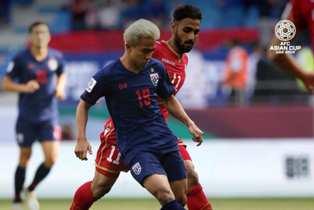 Кубок Азии: реабилитация Таиланда, ОАЭ и Иордания выходят в лидеры