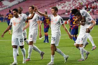 Лига Чемпионов: Бавария наносит Барселоне самое крупное поражение в истории