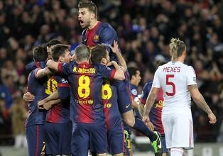 Барселона - Милан - 4:0