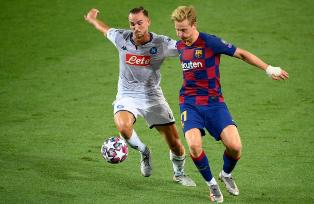 Лига Чемпионов: Барселона справилась с Наполи, определились все четвертьфин ...
