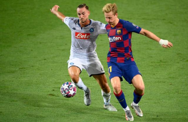 Лига Чемпионов: Барселона справилась с Наполи, определились все четвертьфиналисты