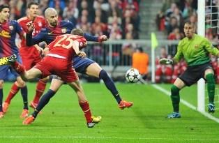 Лига Чемпионов: Бавария уничтожает Барселону