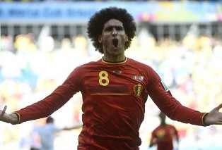 ЧМ-2014: волевая победа Бельгии, Мексика берет важные очки с Бразилией