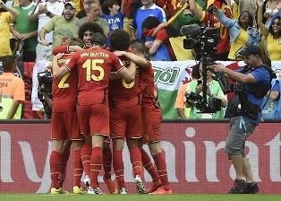 Бельгия побеждает Россию