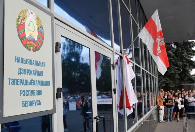 На белорусском ТВ бастующих журналистов заменили россиянами