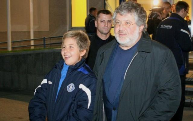 Сын Коломойского играет в баскетбол в США и имеет паспорт Швейцарии