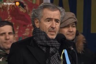Бернал-Анри Леви: на Майдане молодежь впервые гибла со звездным флагом Евро ...