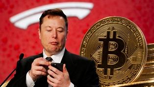 Биткоин рухнул на 15% после заявления Маска об отказе Tesla принимать крипт ...