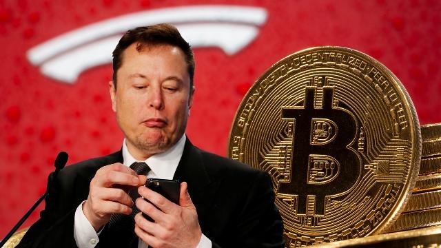 Биткоин рухнул на 15% после заявления Маска об отказе Tesla принимать криптовалюту