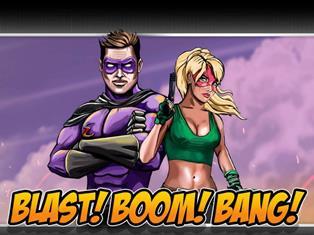Супергерои в мире комиксов: обзор игры Blast! Boom! Bang!