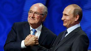 Минюст США: Путин признал факт подкупа президента FIFA для проведения ЧМ-2018