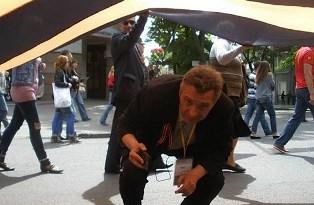 В Харькове задержали скандально известного сторонник ДНР