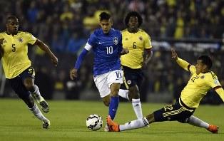 ЧМ-2018: Бразилия побеждает Колумбию, неудача Аргентины в игре с аутсайдеро ...