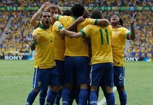 Кубок Конфедераций: Бразилия начинает с победы