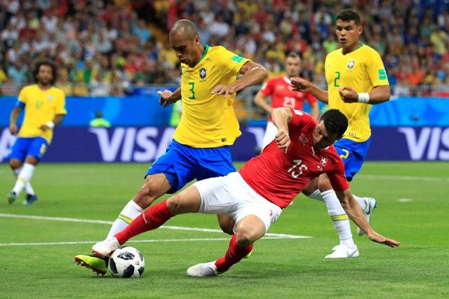 Бразилия - Швейцария