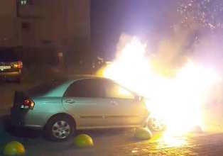 В Броварах сожгли автомобиль журналистов