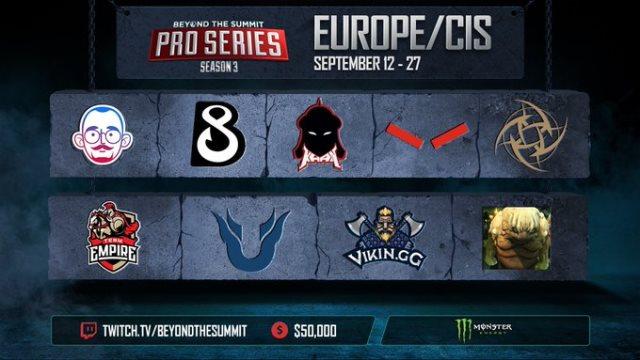 Новости киберспорта: Team Unique является фаворитом в матче против B8 Esports
