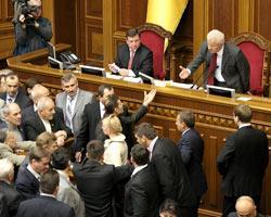 ВР приняла кабминовский законопроект об изменениях к бюджету