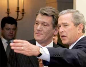 Визит Буша: 1 апреля Украине не до смеха