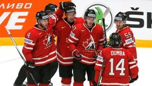 ЧМ по хоккею: Канада громит хозяев, синхронные победы фаворитов