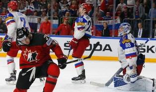 Канада обыграла Россию в полуфинале ЧМ по хоккею