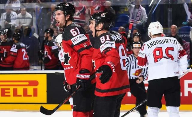 ЧМ по хоккею: невероятное спасение Канады, Финляндия выбила Швецию