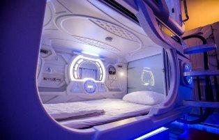 В Киеве начала работать сеть капсульных отелей