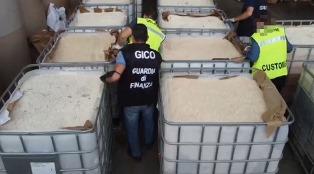В Италии задержали партию наркотиков на 1 млрд евро, прибывшую из контролируемого РФ порта в Сирии