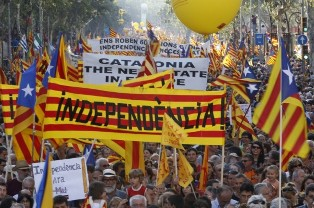 Каталония отказалась от рефрендума о независимости в ноябре