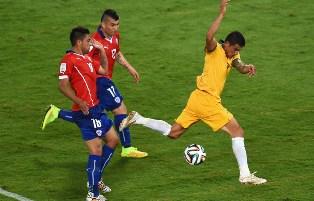 Чили переигрывает Австралию