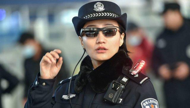 Слежка за людьми в Китае