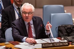 Чуркин сбежал с заседания СБ ООН после обвинений от американцев