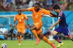 ЧМ-2014: Кот-д'Ивуар переигрывает Японию