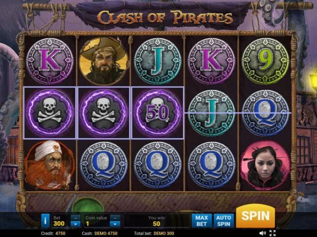 Пираты Карибского моря: обзор игры Clash of Pirates