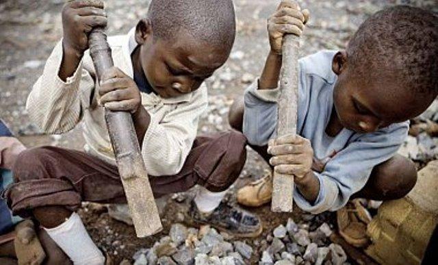Добыча кобальта в ДР Конго