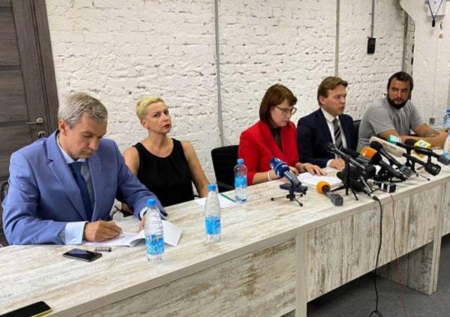 В Беларуси возбудили уголовное дело против создателей Координационного совета оппозиции