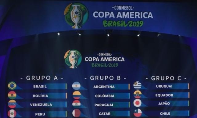 Copa America-2019: состоялась жеребьевка турнира