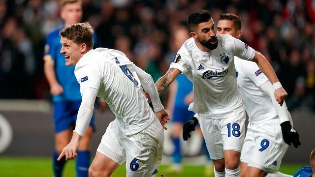 Лига Европы: ничья Динамо и Копенгагена, очередное фиаско Лацио