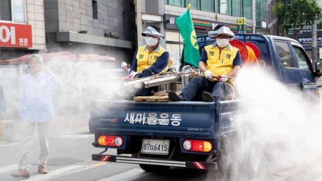 COVID-19: рекордный скачок в мире и вторая волна в Южной Корее