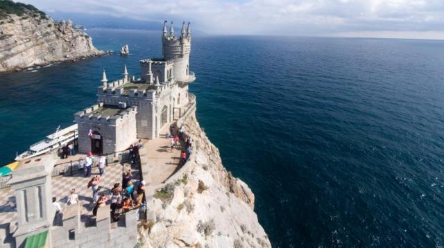 По итогам 2018 года в Крыму отдохнуло более 1 млн. туристов из Украины
