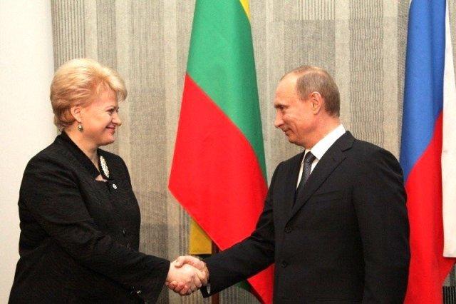 Грибаускайте и Путин
