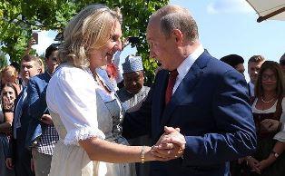 Танцевавшую с Путиным экс-главу МИД Австрии назначат в совет директоров Роснефти