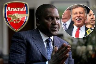 Самый богатый человек Африки хочет купить лондонский Арсенал