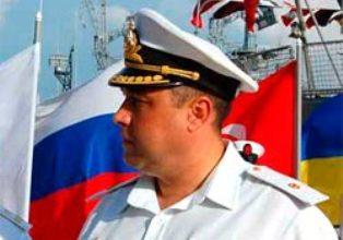 Назначенный вчера Турчиновым глава ВМС Украины присягнул Аксенову. Видео