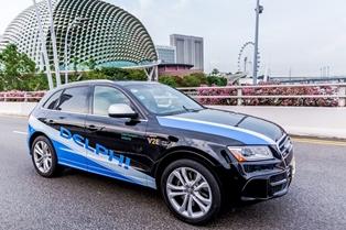 В Сингапуре в тестовом режиме запустили такси с автопилотом