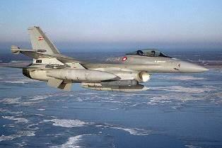 Дания подтвердила участие своих ВВС в нападении на правительственные войска ...