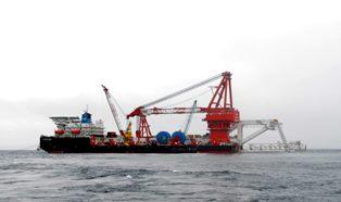 Дания разрешила возобновить строительство Северного потока-2
